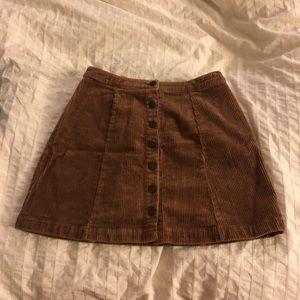 Forever 21 Corduroy Skirt